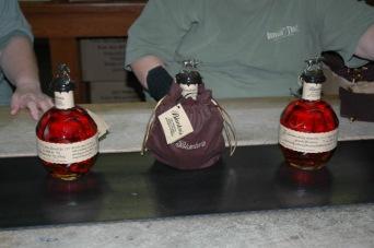 Blanton's bottles