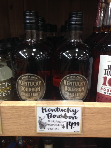 TJ Bourbon on Shelf